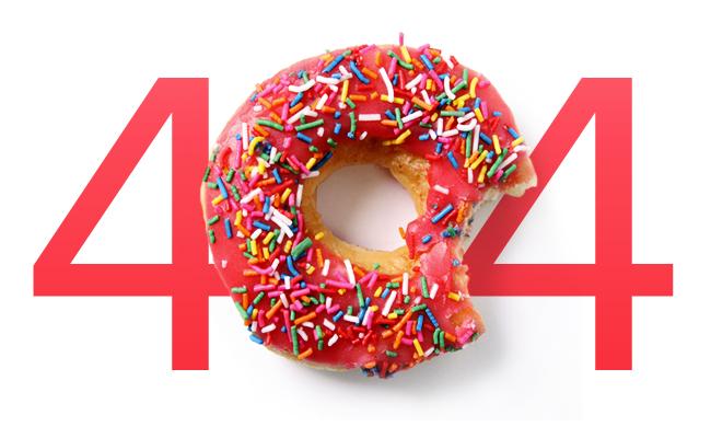 404 Donut Error