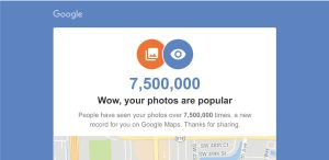Google Maps Photo Views Pass 7.5 Million