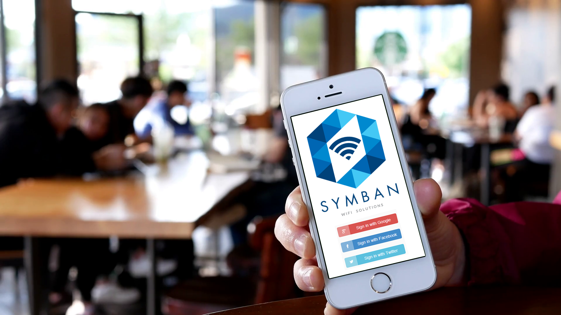 Symban WiFi sign in at venue